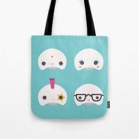 Cute Skulls Tote Bag