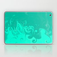 Ocean swirls Laptop & iPad Skin