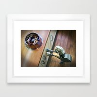 AT-AT pedigree scum Framed Art Print