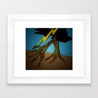 The Hands-Down Tree Framed Art Print