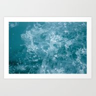Art Print featuring Sea Water by Svetlana Korneliuk