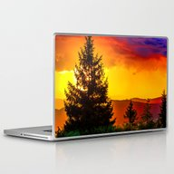 Laptop & iPad Skin featuring Colorful Sunset by Haroulita!!