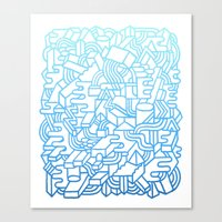 Wave Machine Canvas Print