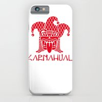 iPhone & iPod Case featuring Karnahual by Rilke Guillén