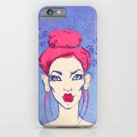 Selfie Girl_3 iPhone 6 Slim Case