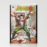 Bloodshot Shooting Stationery Cards