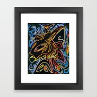 So Familiar (remix) Framed Art Print