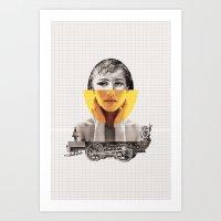 Goodbye My Lover Art Print
