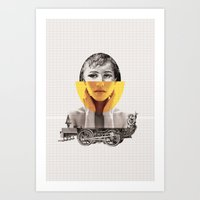 Goodbye my lover Art Print