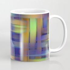 Multicolored wicker Mug