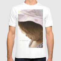 I am Beautiful Mens Fitted Tee White SMALL