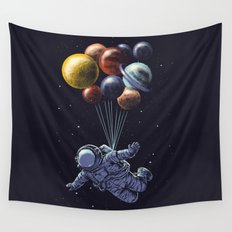 Space travel Wall Tapestry