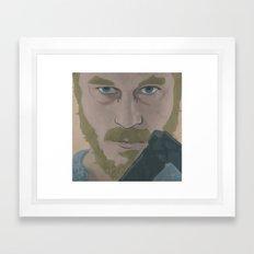 Ragnar Lothbrok from Vikings Framed Art Print