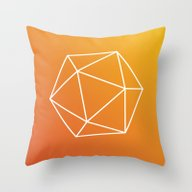 Throw Pillow featuring Geometry by Geometry