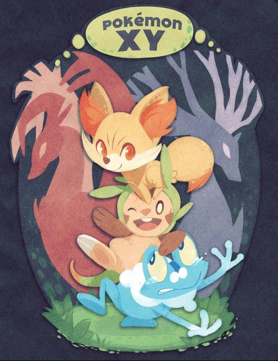 Pokemon X & Y Art Print