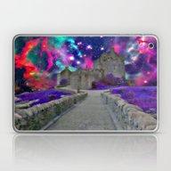 Space Castle Laptop & iPad Skin
