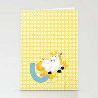 U For Unicorn Stationery Cards