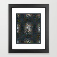 Famous Capsules - THE VERY BIG ONE Framed Art Print