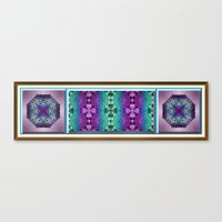 Meditative Garden Canvas Print