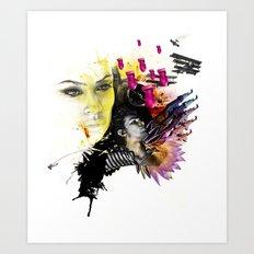 Mingadigm   Hopeful Art Print