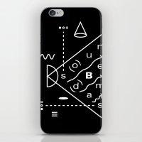 Soundbeams iPhone & iPod Skin