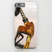 iPhone & iPod Case featuring Gas Station by Gal Raz