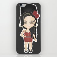 amy back to black iPhone & iPod Skin