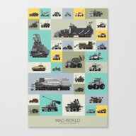 Mad World Canvas Print