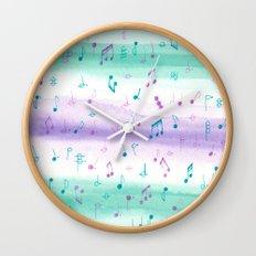 #102. JENNI (Musical Notes) Wall Clock