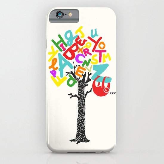 Sleep All Day (A-Z) iPhone & iPod Case