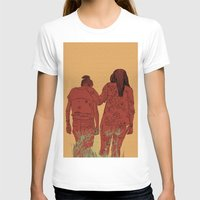 girls T-shirts featuring Girls by Nahal