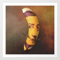 Salvador Bananali Art Print