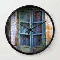 Abandoned Sicilian House… Wall Clock