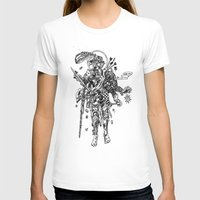 Knight (Ascension) Womens Fitted Tee White SMALL