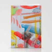Spontaneous Moods Stationery Cards