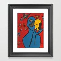 SKIN DEEP  (ORIGINAL SOL… Framed Art Print