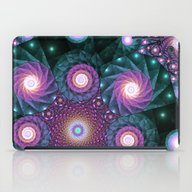 iPad Case featuring Galexies Collide  by Kirsten Star