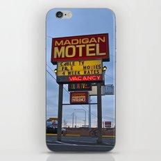 Classic motel sign iPhone & iPod Skin