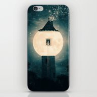 iPhone & iPod Skin featuring The Moon Tower by Paula Belle Flores