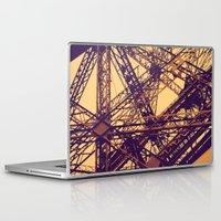 eiffel Laptop & iPad Skins featuring Eiffel by adrianperive