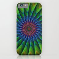fractal iPhone & iPod Cases featuring Fractal by David Zydd