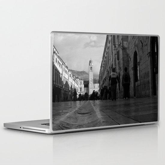 Marble Gutter Laptop & iPad Skin