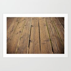 the wood Art Print
