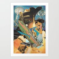 Arsicollage_3 Art Print