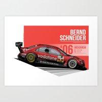 Bernd Schneider - 2006 Hockenheim Art Print