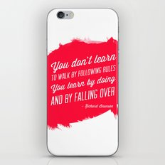 Richard Branson success quote iPhone & iPod Skin