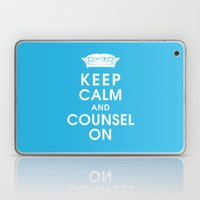 Keep Calm And Counsel On Laptop & iPad Skin