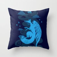 The Flying Fox's First F… Throw Pillow