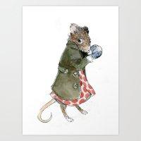 Ms. Mouse Art Print