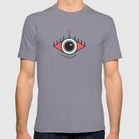 The Seeing Eye Mens Fitted Tee Slate SMALL